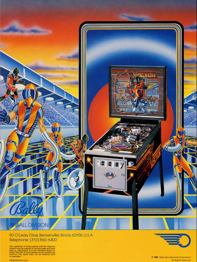 """vector pinball machine""  5 Must see vintage pinball arcades 5 must see vintage pinball arcades2"