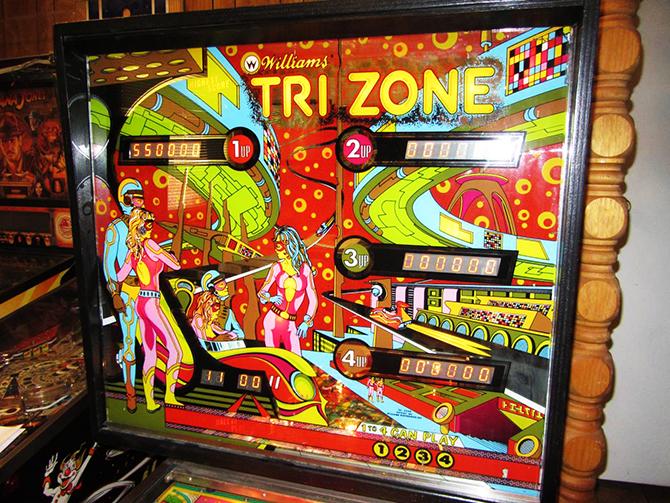 """tri zone pinball machine""  5 Must see vintage pinball arcades 5 must see vintage pinball arcades20"