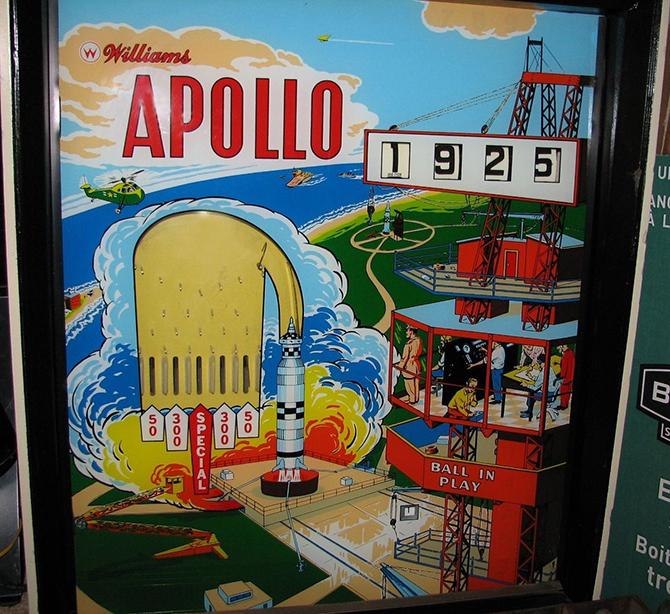 """apollo pinball machine""  5 Must see vintage pinball arcades 5 must see vintage pinball arcades3"