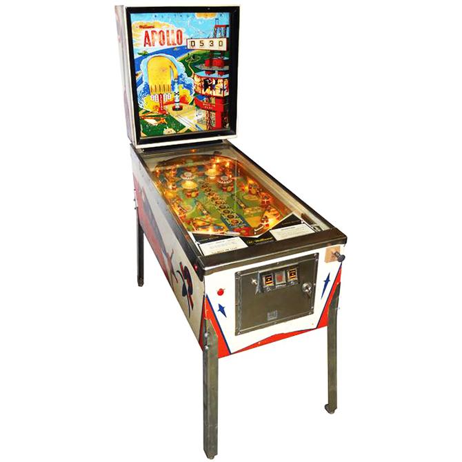 """apollo pinball machine""  5 Must see vintage pinball arcades 5 must see vintage pinball arcades5"