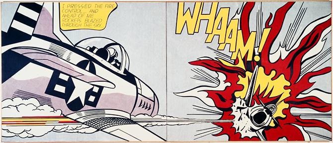"""jetfighter explosion""  Iconic Vintage Pop Art iconic vintage pop art 6"