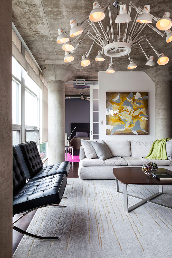 design-modern-interior  10 ways to decorate a small appartment with industrial style  design modern interior