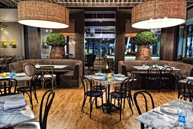 Best industrial restaurants vintage style