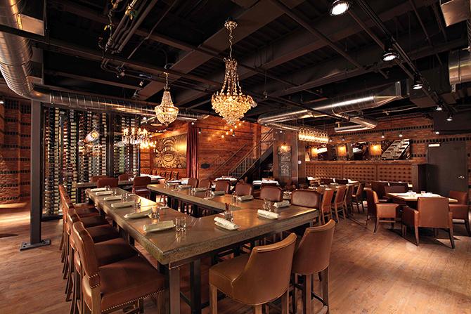 """industrial restaurant"""