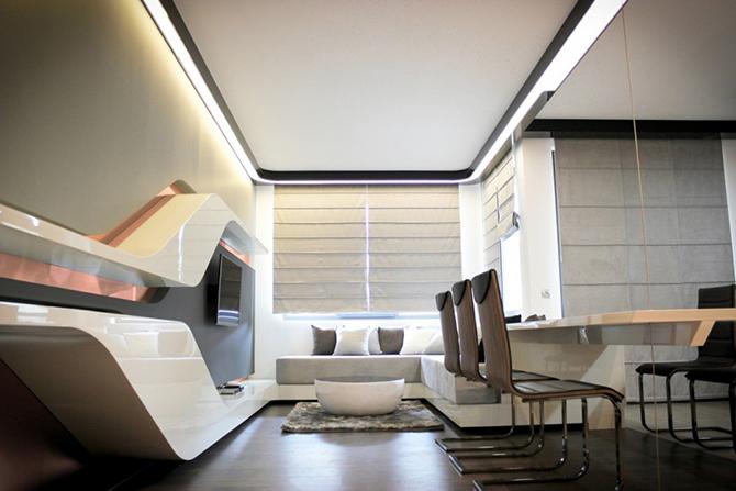 Retro Futuristic Interior Design Ideas10 Vintage Industrial Style
