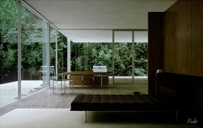 20 inspiring retro futuristic interiors  Retro futuristic 20 inspiring retro futuristic interiors  retro futuristic interior design ideas4