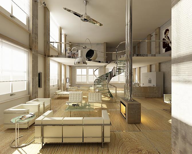 20 inspiring retro futuristic interiors  retro futuristic 20 Inspiring Retro Futuristic Interiors retro futuristic interior design ideas9