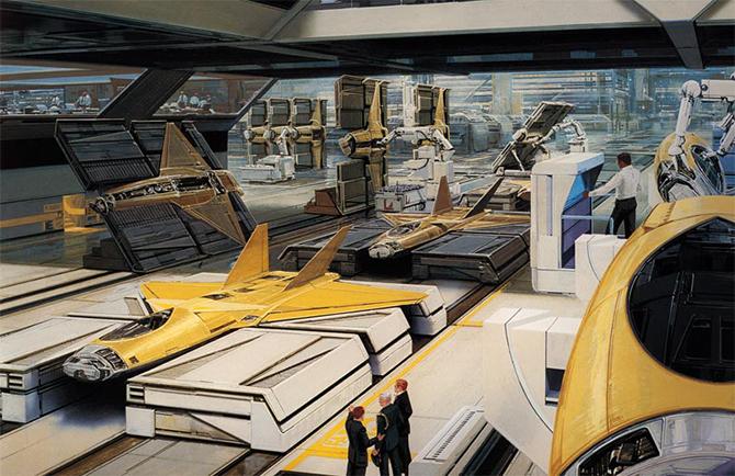 """""""retro futusistic artwork""""  Amazing Retro Futuristic Artwork amazing retro futuristic art 11"""