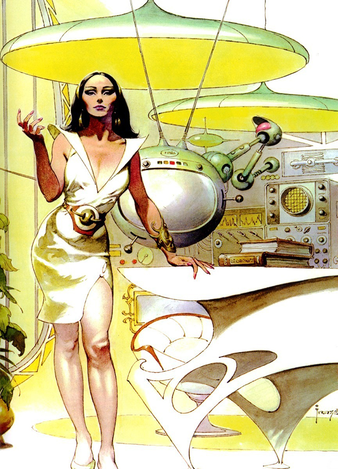 """""""retro futusistic artwork""""  Amazing Retro Futuristic Artwork amazing retro futuristic art 12"""