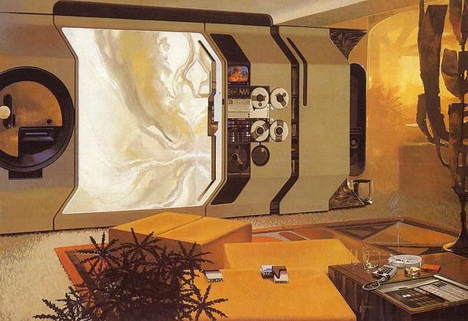 """""""retro futusistic artwork""""  Amazing Retro Futuristic Artwork amazing retro futuristic art 4"""
