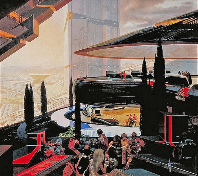 """""""retro futusistic artwork""""  Amazing Retro Futuristic Artwork amazing retro futuristic art 5"""
