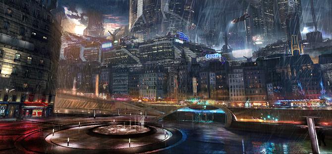 """""""retro futusistic artwork""""  Amazing Retro Futuristic Artwork amazing retro futuristic art 6"""