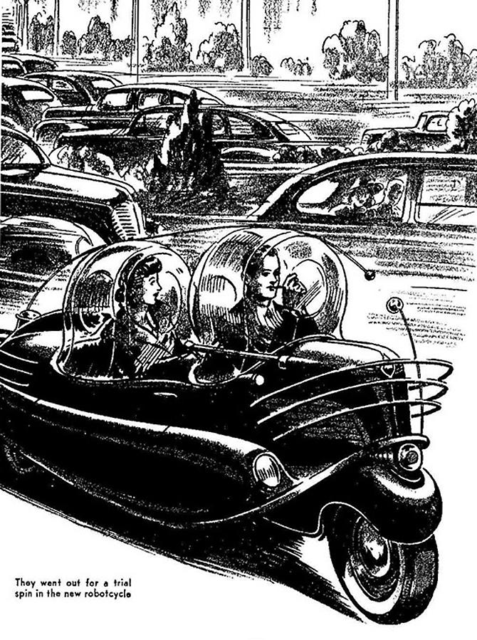 """""""retro futusistic artwork""""  Amazing Retro Futuristic Artwork amazing retro futuristic art 8"""