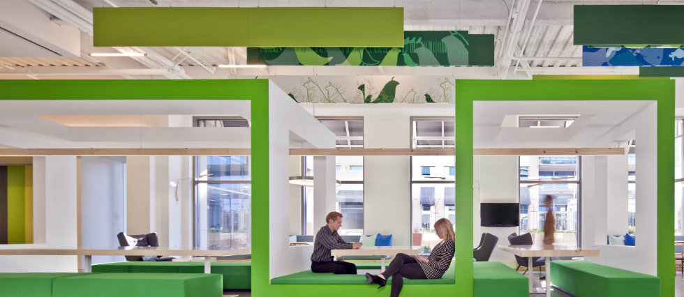 INTERIOR DESIGN GIANTS : NOKIA SILICON VALLEY OFFICES BY GENSLER ...