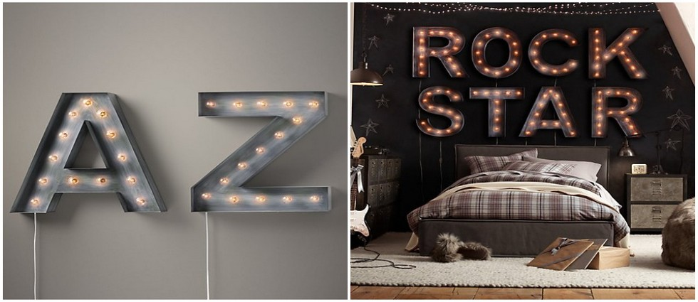 Best of Vintage Marquee Letters