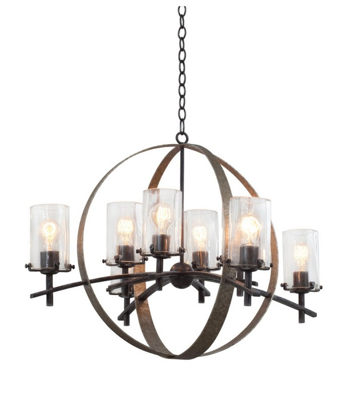 Top 5 Industrial Chandeliers for your Living Room