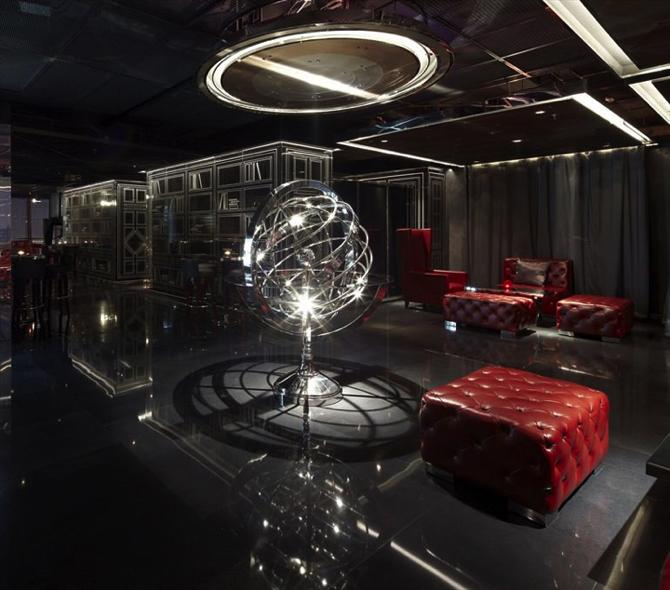 top 5 architectural lighting for bars yu bar by kokaistudios shanghai