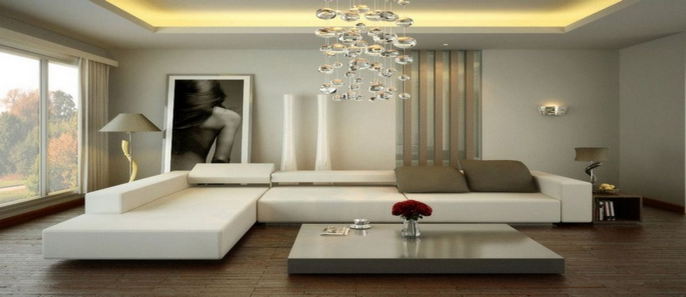 Low ceiling living room design Luxury small living room