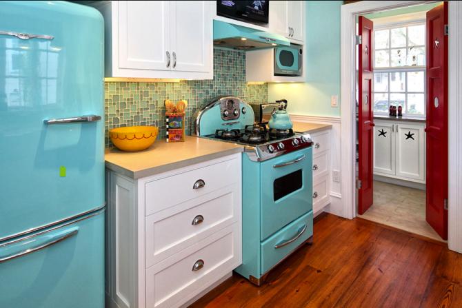 Design your Kitchen Retro Style