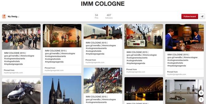 IMM COLOGNE, by My Design Agenda