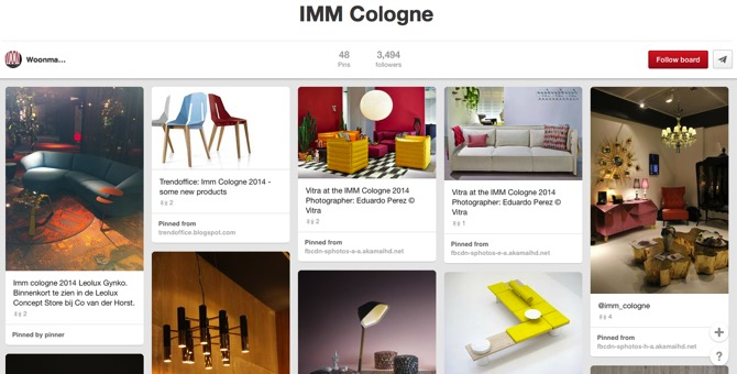 IMM Cologne, by Woonmagazine Online