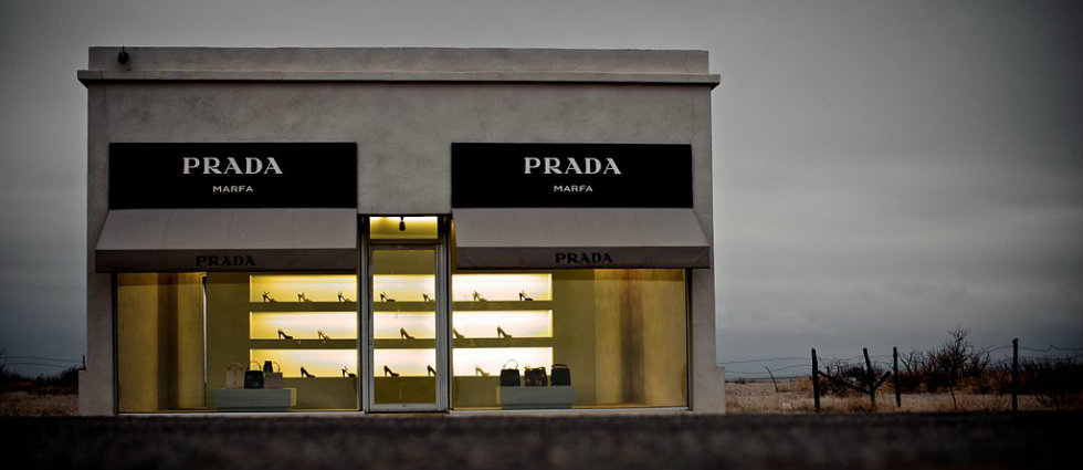 The Prada store that got lost in the desert