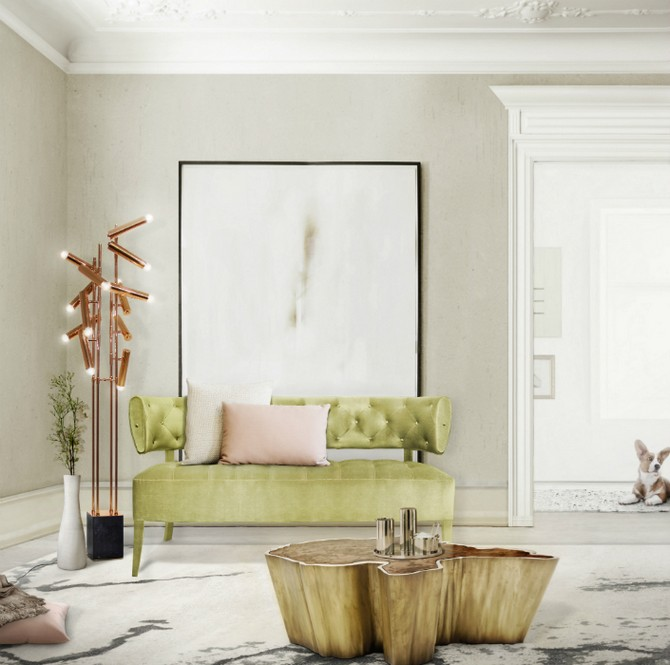 5 Brass Floor Lamps