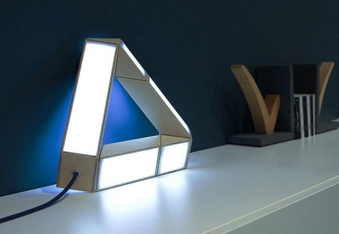 70's Inspired Lamp  70's Inspired Lamp 70s Inspired Lamp 2