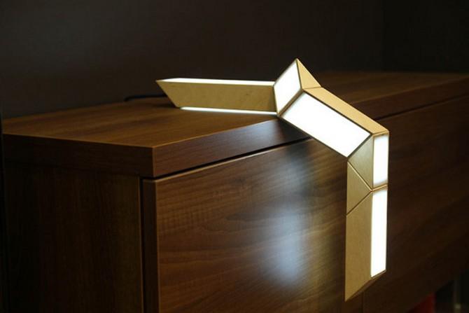 70's Inspired Lamp  70's Inspired Lamp 70s Inspired Lamp 4