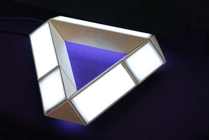 70's Inspired Lamp  70's Inspired Lamp 70s Inspired Lamp 5