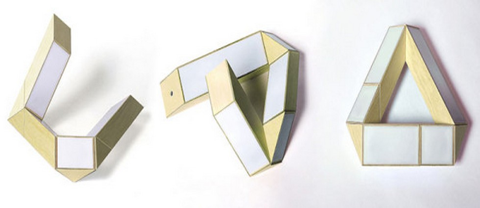70's Inspired Lamp