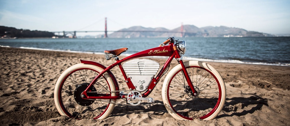 The E-Tracker by Vintage Electric Bikes