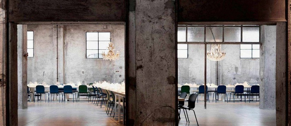 Industrial Restaurant in an Old Factory