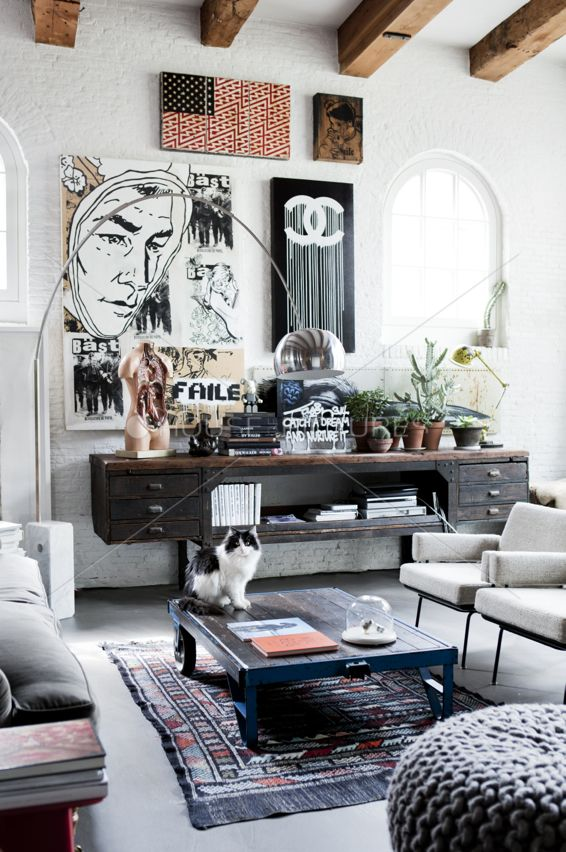 Industrial Interiors to die for