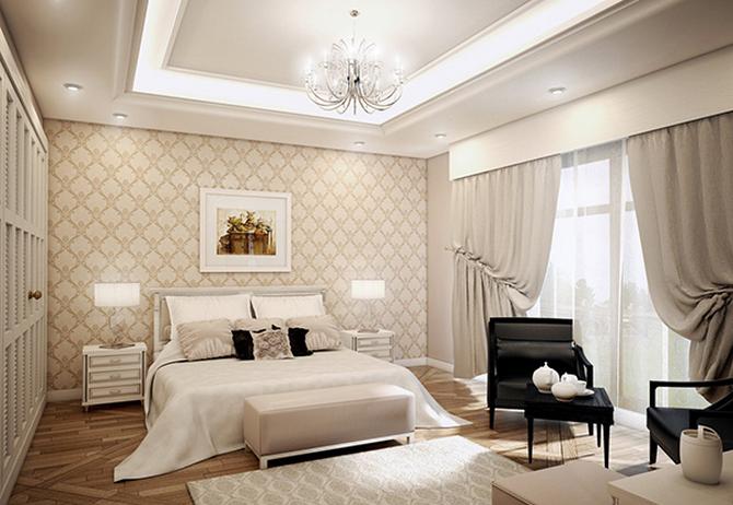 wall brown pattern vintage bedroom Get your ideal vintage bedroom  wall pattern