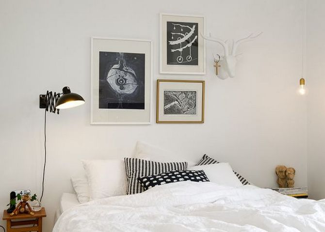 Get your ideal vintage bedroom  vintage bedroom Get your ideal vintage bedroom  white bedroom black head lamp