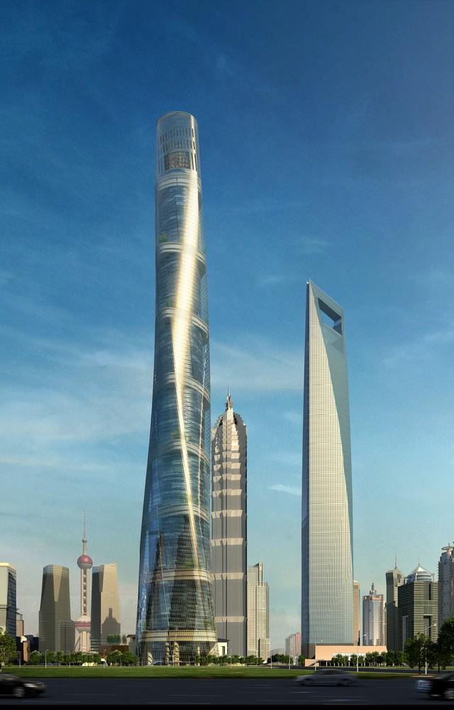 GENSLER: TECHNOLOGIC INSPIRATIONAL PROJECTS GENSLER GENSLER: TECHNOLOGIC INSPIRATIONAL PROJECTS Genslers shangais tallest tower