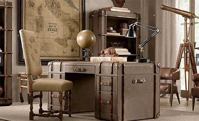 Vintage Interior Design Styles How to Bright Up Your Office