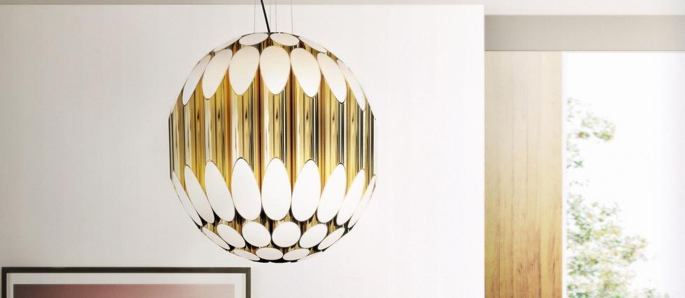 KRAVITZ SUSPENSION LAMP: lighting designs inspired in music