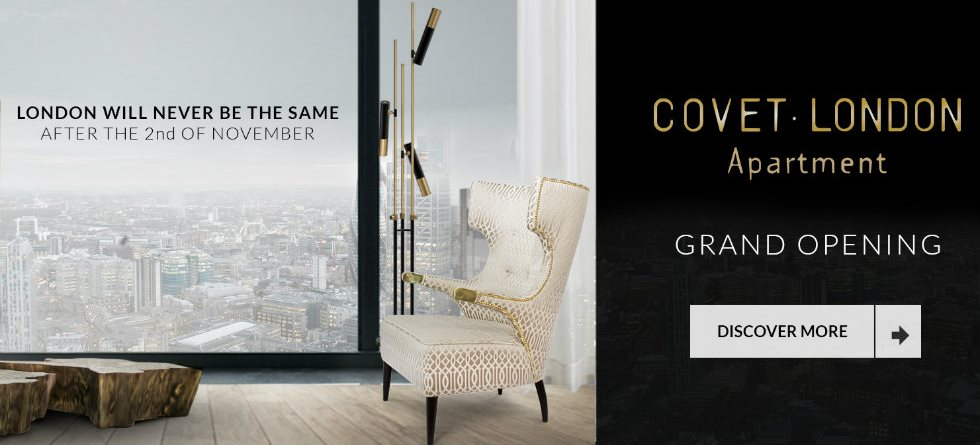 New Showroom with luxury designs at the heart of London COVET LONDON DESIGN APARTMENTfeatured