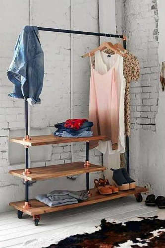 10 industrial style closet designs that you'll love 4 closet designs 10 Industrial Style Closet Designs That You'll Love 10 industrial style closet designs that youll love 4