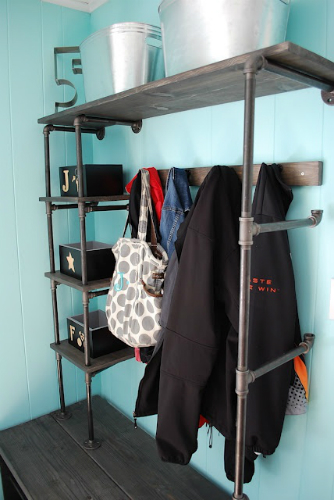 10 industrial style closet designs that you'll love 8 closet designs 10 Industrial Style Closet Designs That You'll Love 10 industrial style closet designs that youll love 8