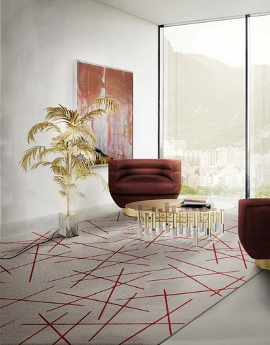 2 Patterned Rugs For Your Industrial Style Home