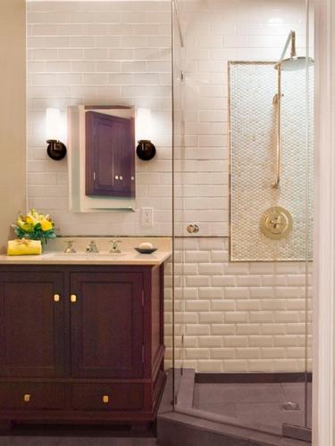 Industrial Small Bathroom Design