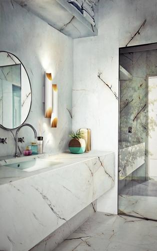 Galliano Wall DelightFULL small bathroom designs Industrial Style: Small Bathroom Designs Galliano Wall DelightFULL