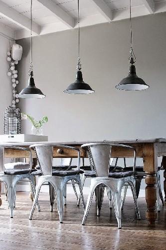 top 10 industrial dining room design vintage metalic chairs dining room design 10 industrial dining room design top 10 industrial dining room design vintage metalic chairs