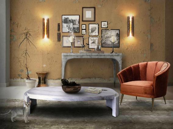 15 golden sconces for a vintage but modern home