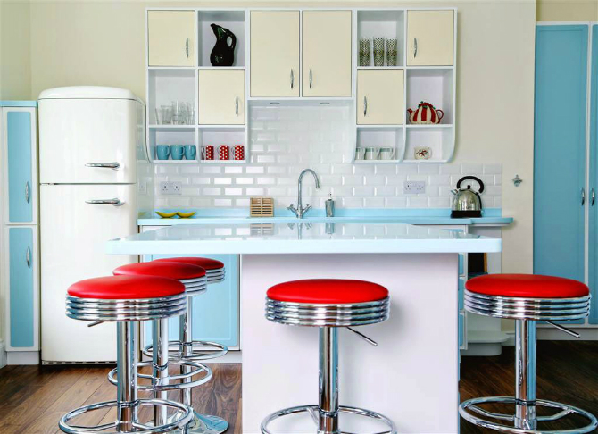 Retro inspirations for your kitchen ideas kitchen ideas Retro inspirations for your kitchen ideas how to create a retro kitchen 7
