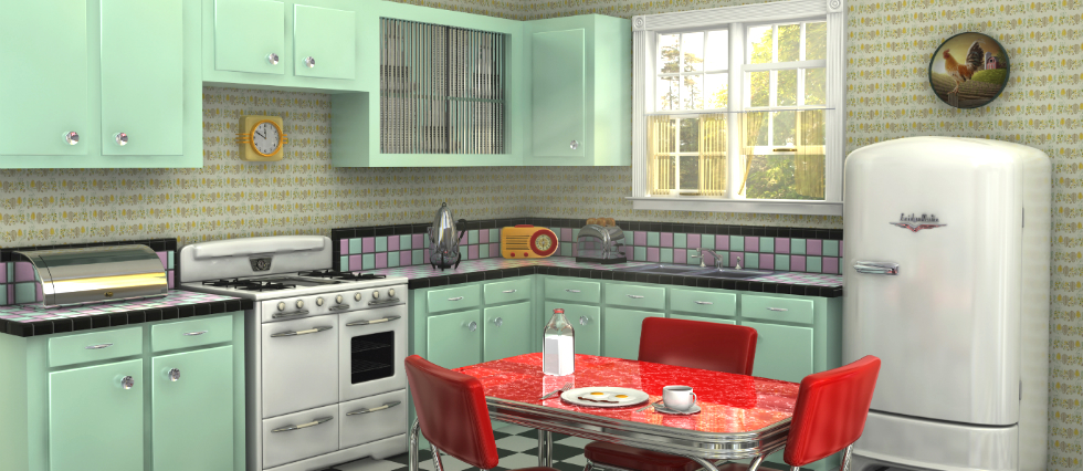 retro kitchen furniture how to create a retro kitchen 14763