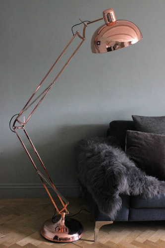 10 Floor Lamps to use in your industrial style home designs 7